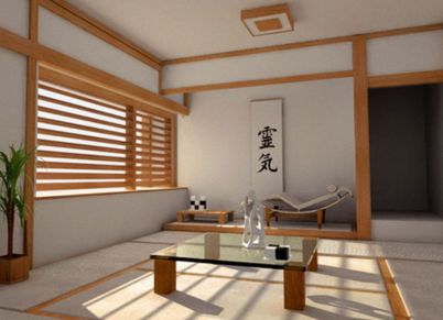 japanese style teenage decor  - Ideas Zen Home Interior Decorating-16